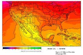 Mapa Solar de México.